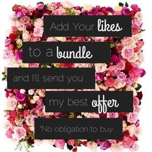 Other - Create a bundle for a special offer!
